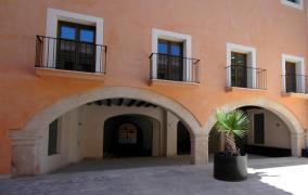 Apartamento restaurado en palacio del casco antiguo de Palma