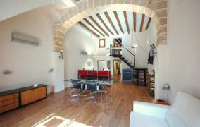 Luminosa planta baja office-loft con carácter in Casco Antiguo Palma