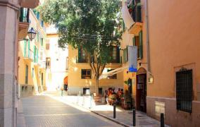 Large flat in the heart of the Old Town near the plaza de Cort