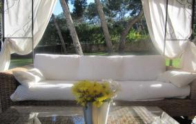 Piso con jardín privado en Sol de Mallorca