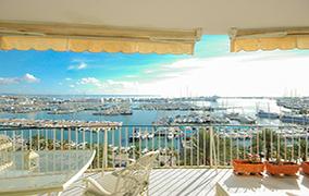 Piso con increíbles vistas al mar en el Paseo Marítimo Palma