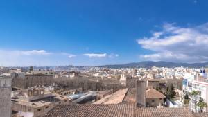 �tico con vistas a la tramuntana en Casco Antiguo Palma