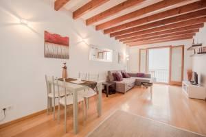 Elegante piso equipado en Casco Antiguo de Palma - DomoPlan Inmobiliaria, Real Estate, Immobilien
