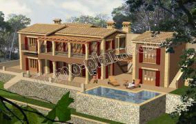 Villa im gehobenen Finca-Stil mit exclusiver Ausstattung in Pto. Andratx