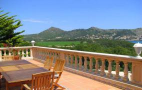 Villa mit fabelhaften Blick zum Meer in Canyamel