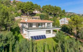 Erstbezug Designer - Villa im modernen Stil  in Son Vida-V-3908-DE