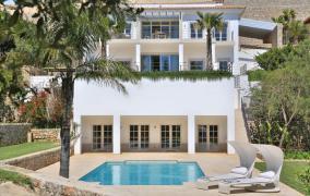 Elegante high – end Villa in Son Vida mit herrschaftlichem Blick über Palma