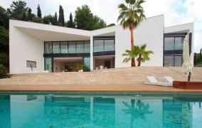 Einzigartige moderne Villa in Son Vida, mit Panoramablick über Palma