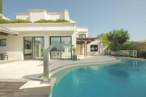 Espectacular Villa en los altos de Bendinat con vistas al mar - DomoPlan Inmobiliaria, Real Estate, Immobilien